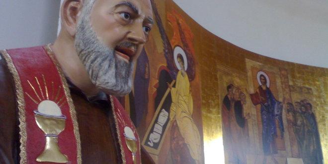 Erice, polemiche sulla collocazione di una statua di Padre Pio