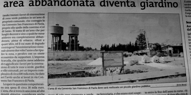 Palestra San Francesco di Paola: A breve sarà completata