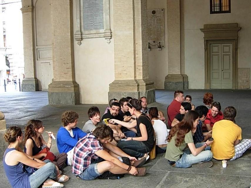 Un sit-in per sollecitare il Piano Traffico