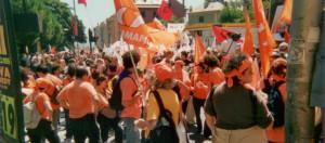 Manifestazione Partito Umanista