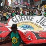 Manifestazione sul Clima