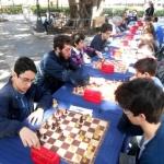 Torneo scacchi a Villa Margherita