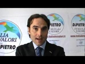 Giuseppe Caradonna, ex-Erice che Vogliamo, ex-IDV