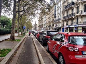 ciclabile a Parigi