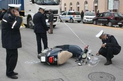 Incidente mortale a Trapani