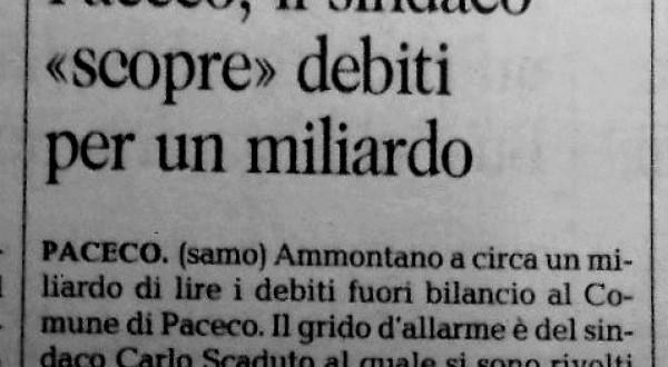 Debito Paceco