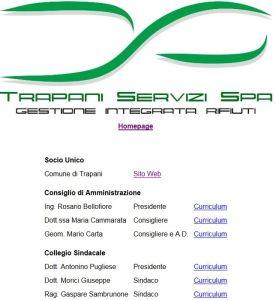 sito trapani servizi