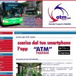 La nuova Home del sito ATM Trapani