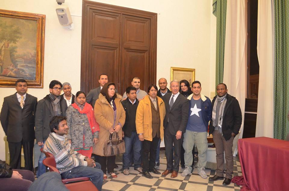 La Consulta Immigrati col sindaco Damiano