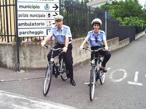 Polizia Municipale: Vigili in Bici