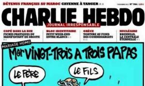 Vignetta Blasfema Charlie Hebdo
