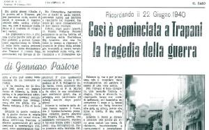 Il Faro - Bombardamento del 22 giugno 1940