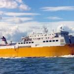 L'Engoy, rinominato nel 1989 Espresso Trapani. Precedentemente la nave era conosciuta coi nomi di Reina del Atlantico e Bachra Labiad