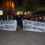 Contestato comizio Salvini a Marsala