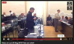 Enzo Abbruscato, in Consiglio