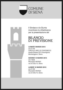 Manifesto Forum Siena sul Bilancio