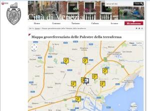Citta di Venezia - mappa