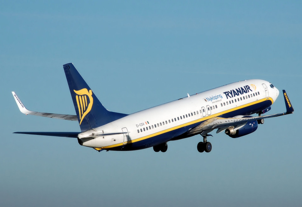 Decollo Ryanair