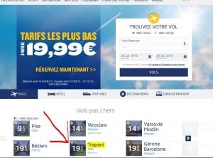 Link tariffe Ryanair FR
