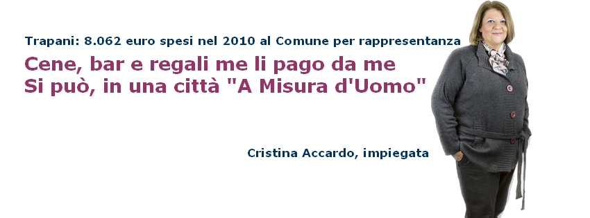 Cristina Accardo A Misura Uomo