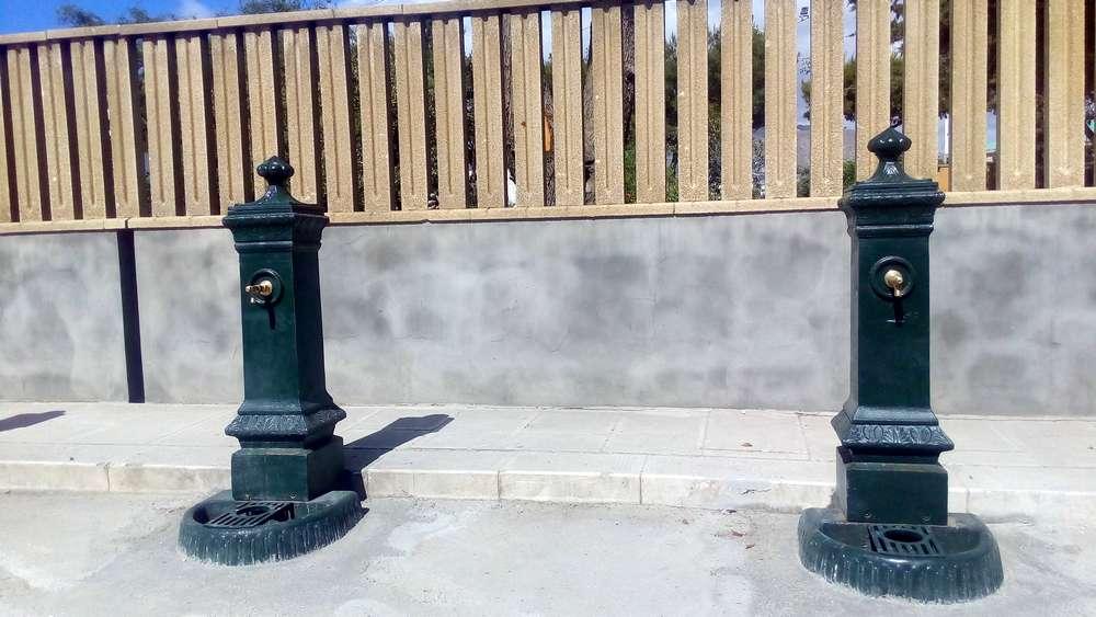 Fontanelle acqua potabile piazza Ilio