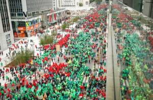 Sciopero Bruxelles 2