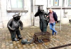 in Piazza a Namur