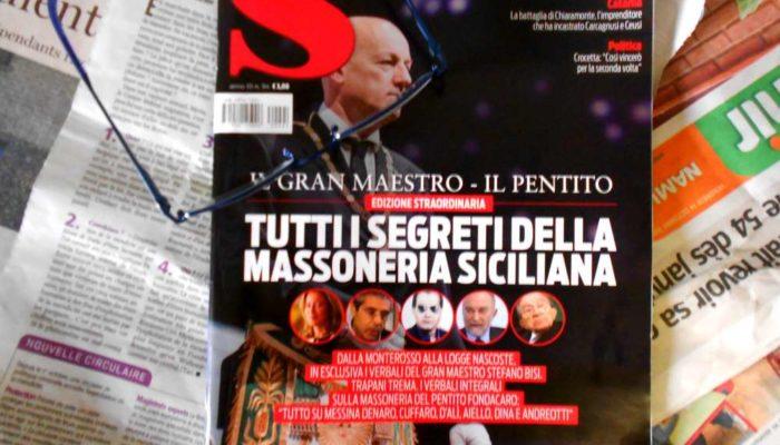 Trapani: si parla di D'Alì e Massoneria, i giornali vanno a ruba