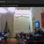 Consiglio comunale Trapani in streaming