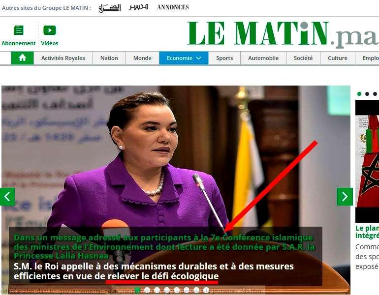 Le Matin - 26 ottobre 2017
