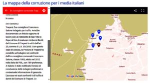 Mappa Corruzione Trapani