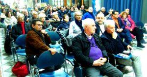 pubblico assemblea sinistra unitaria
