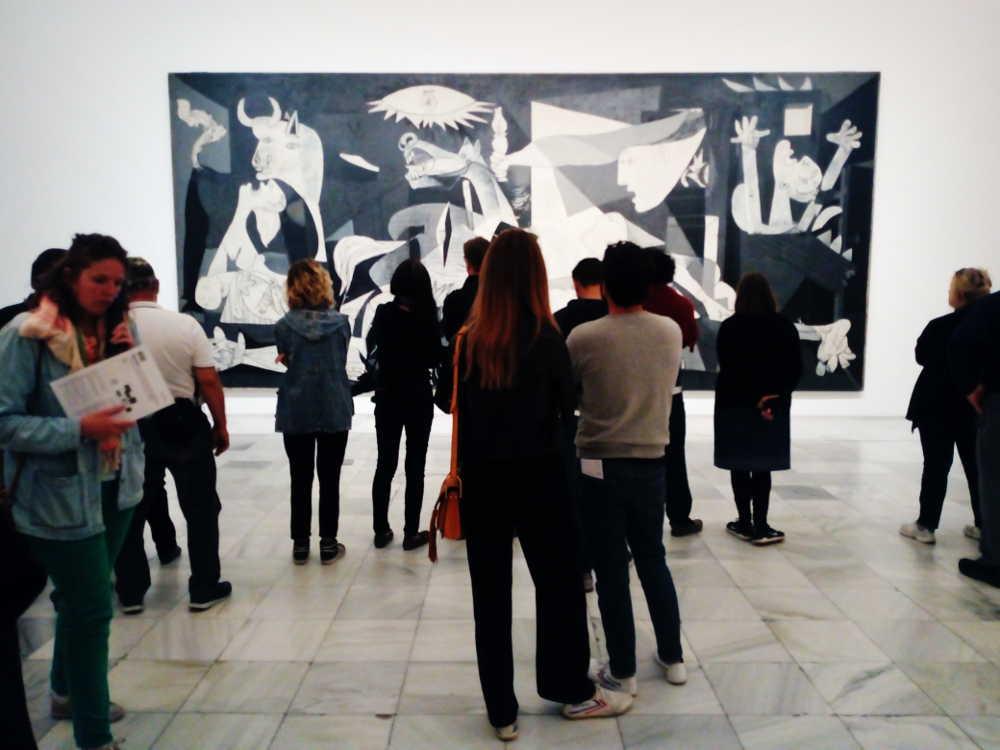 Guernica di Picasso (Museo Reina Sofia)