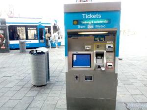 Macchina Ticket Tram Amsterdam