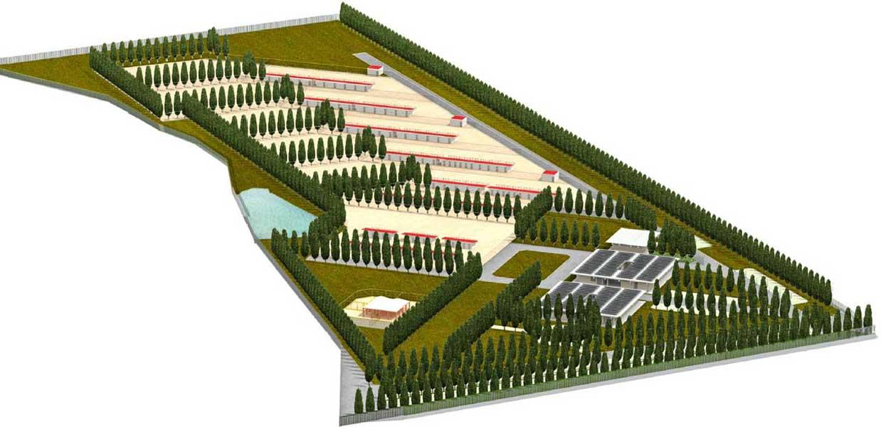 Canile Cuddia - 3D progetto