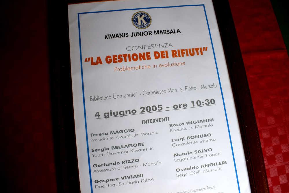 Seminario Kiwanis Marsala 2005 - Relatori