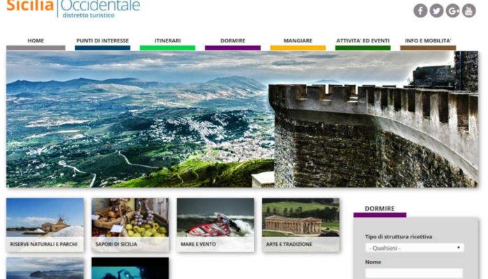 Sito web Distretto Sicilia Occidentale