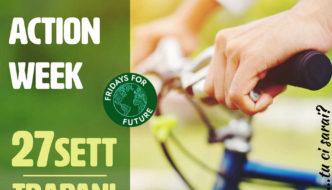Corteo Bici per il Clima a TRapani