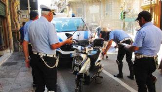 Polizia Municipale Palermo - Ciclomotori elettrici