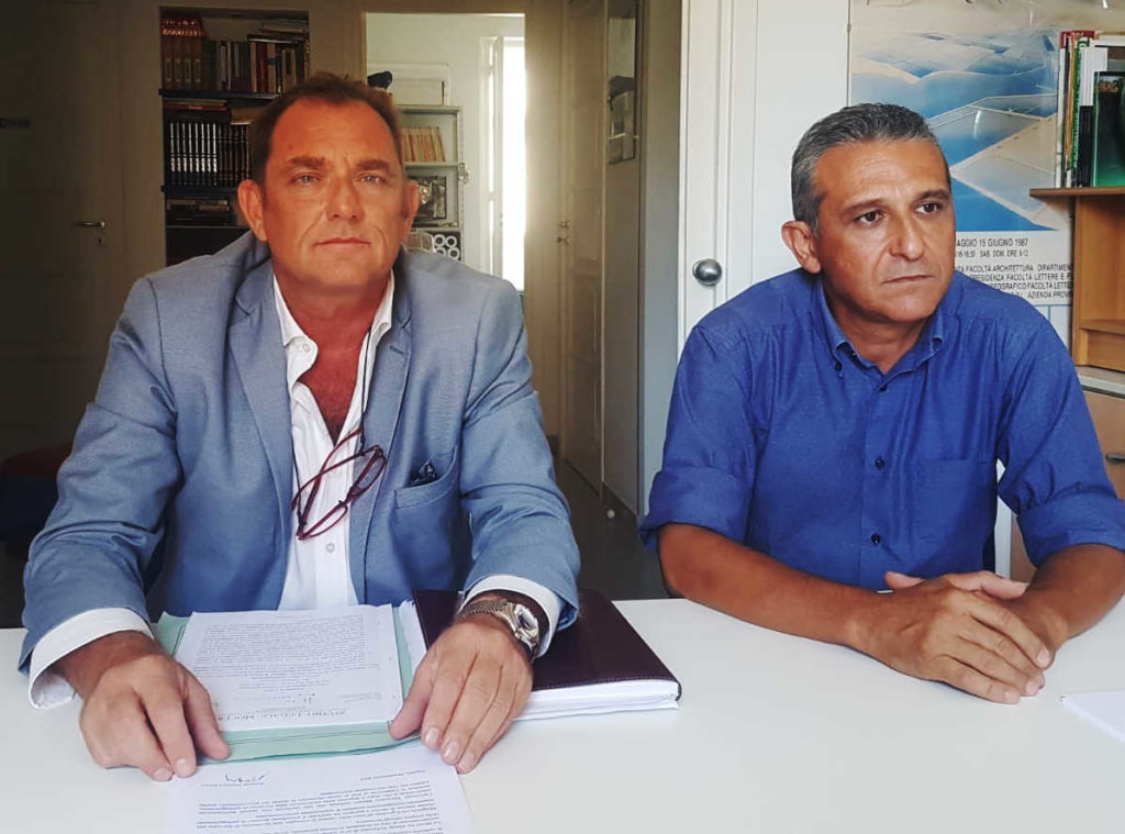 avvocato Francesco Maceri e architetto Angelo Catalano