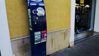 Macchinetta parcheggi a pagamento Trapani