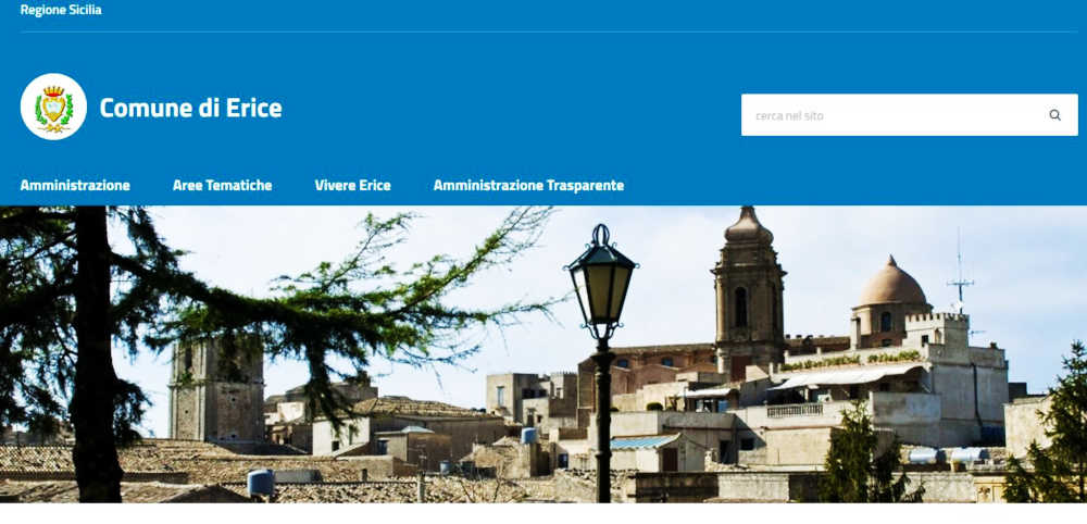 Sito web del comune di Erice - Albo Pretorio
